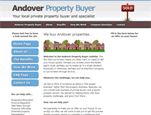 Tablet Preview of andoverhousebuyers.biz